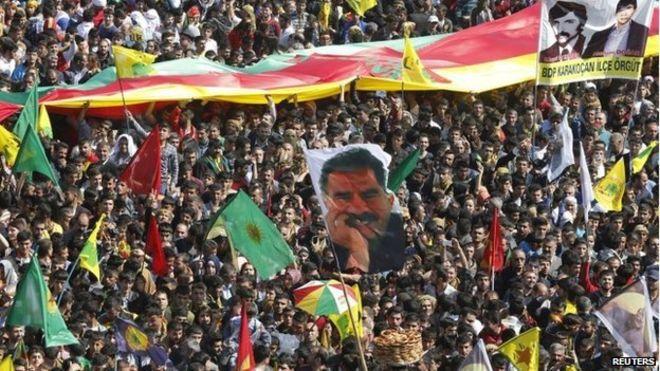 PKK protest