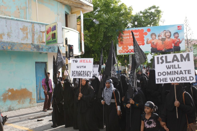 Islamists Maldives