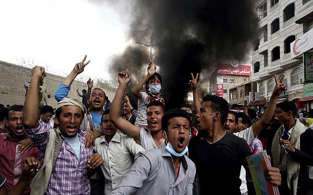Taiz telegraph