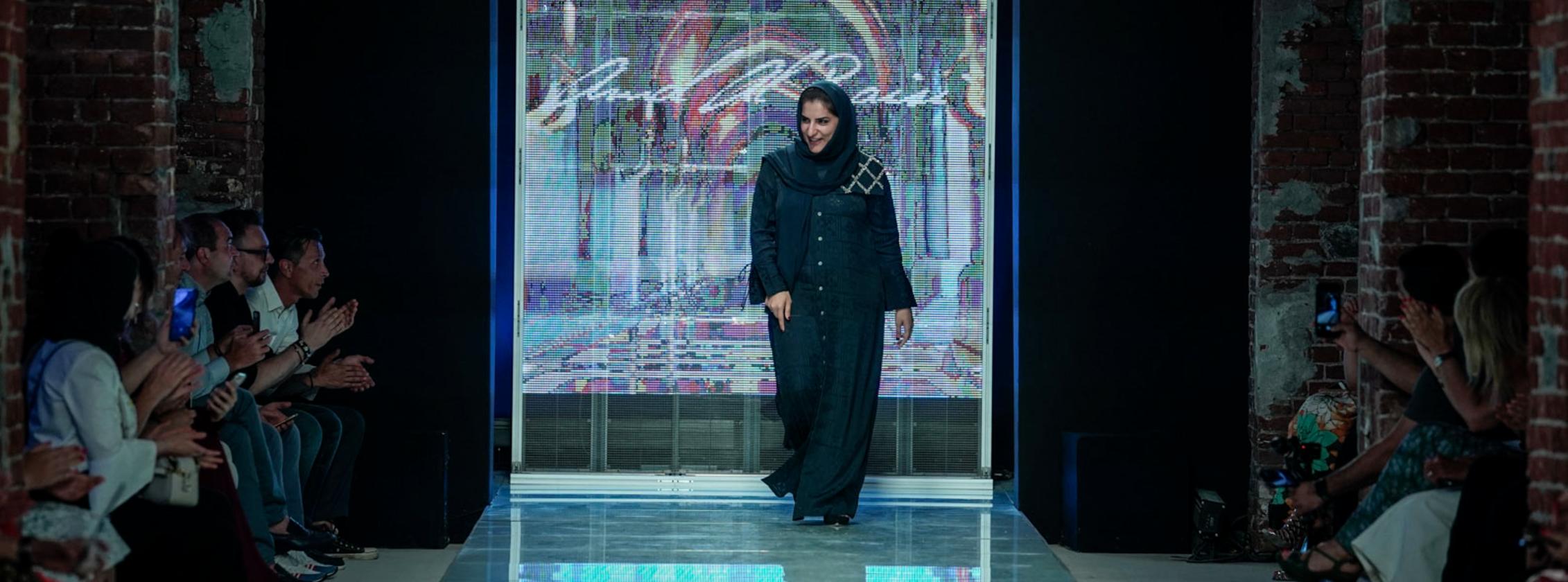 Amal Al Raisi The Fashion Designer Taking Khaleeji Style To The Runways Of Paris And Torino Pink Jinn