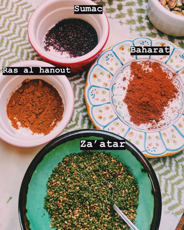 spices with names