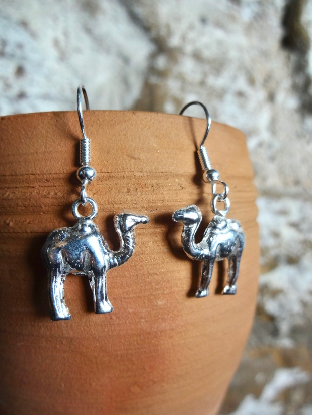 WAHIBA | Camel Earrings