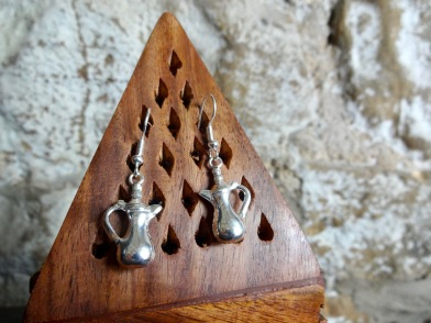 RUSTAQ | Coffee Pot Earrings