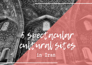 Cultural sites in Iran