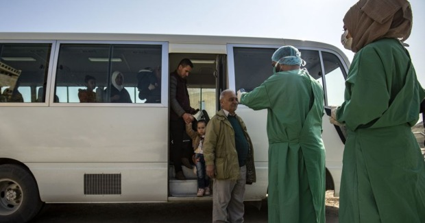 coronavirus in syria