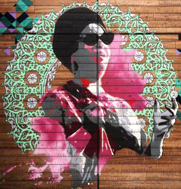 Um Kulthum art Dubai