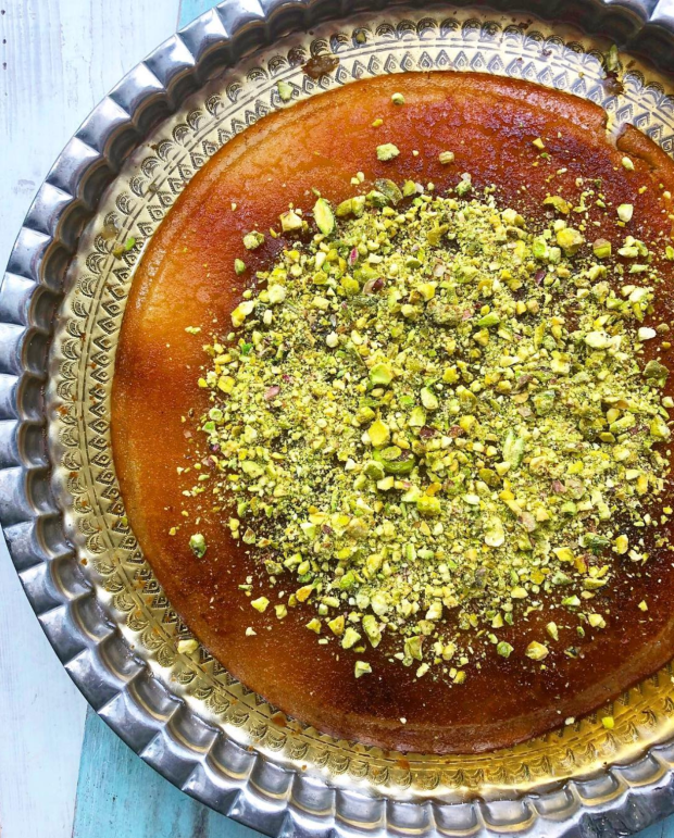 Palestine on a Plate knafeh