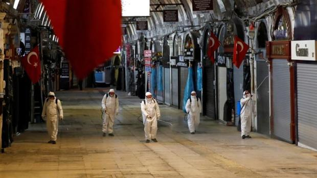 Coronavirus Turkey Istanbul lockdown