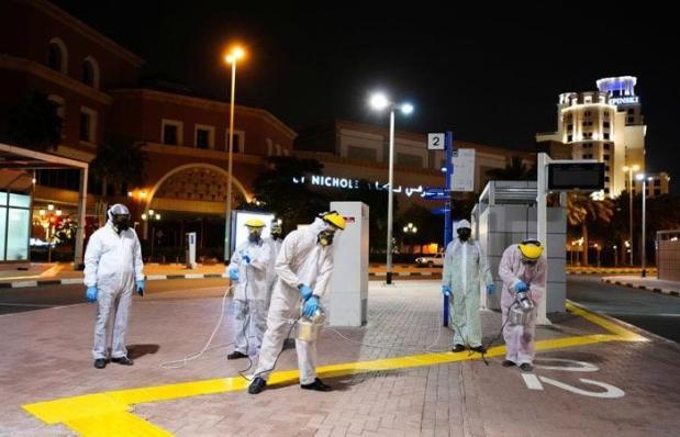 coronavirus UAE dubai