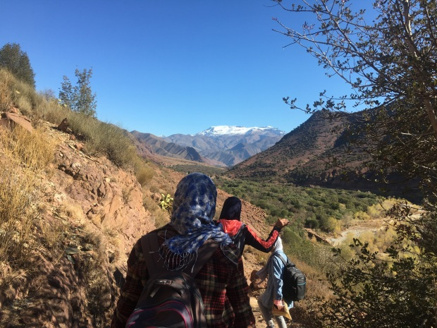 walking Atlas Mountains Morocco