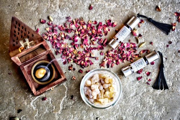 Salalah frankincense perfume