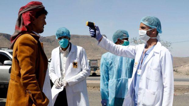 Covid testing in Yemen