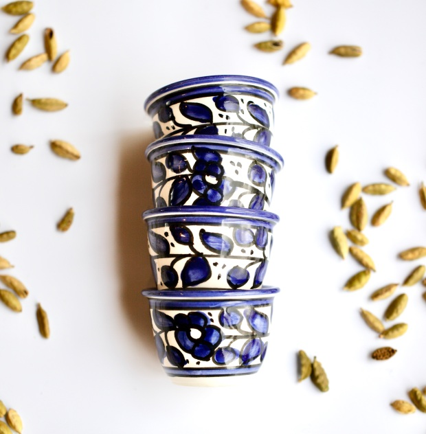 Arabic coffee cups finjan