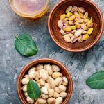 Middle Eastern sweets ingredients