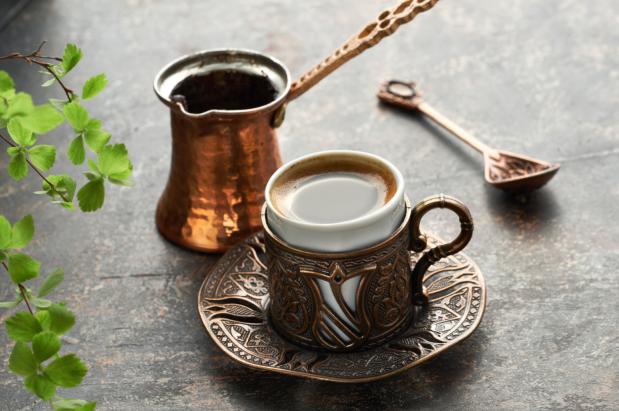 How to make Arabic coffee
