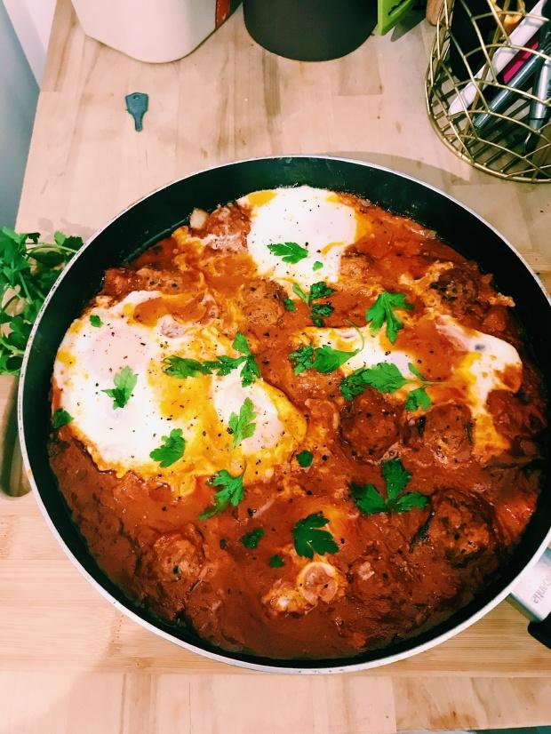 Moroccan Shakshuka recipe